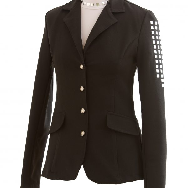 cavalliera noir veste softshell rivee