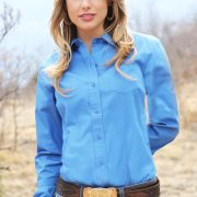 cruel-womens-western-shirt-solid