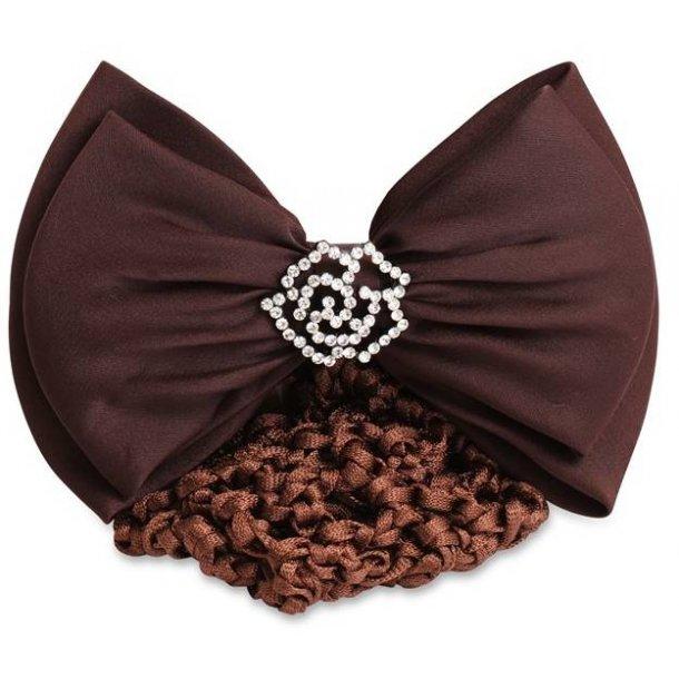 SD Design® barrette fleur strass