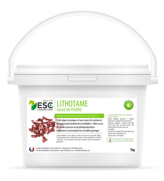 ESC Laboratoire – Lithothamne – Reminéralisation et acidité gastrique cheval – Plante pure