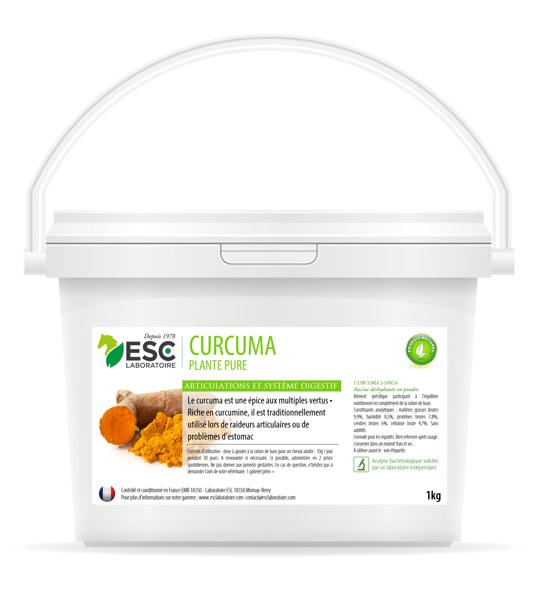 ESC Laboratoire – Curcuma – Articulations et digestion – 1kg