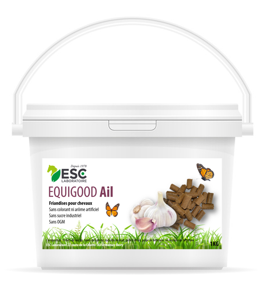 ESC Laboratoire – Equigood Ail 1kg