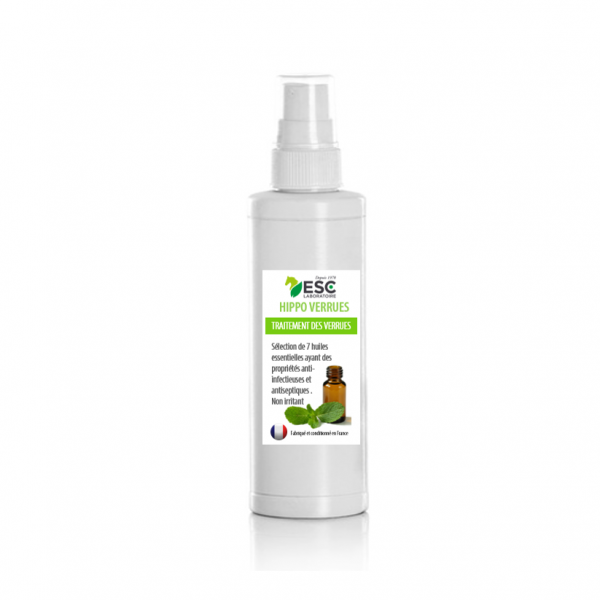 ESC Laboratoire – Hippo verrues spray 200ml