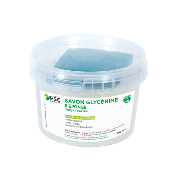 ESC Laboratoire – Savon glycériné + éponge 500g
