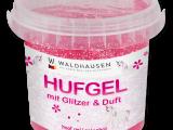 Waldhausen – Gel pour sabots avec paillettes, contenu 500ml
