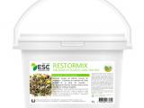 Esc Laboratoire – Restormix 1kg – Etat général et prise de muscle cheval – Mélange de plantes source de protéines